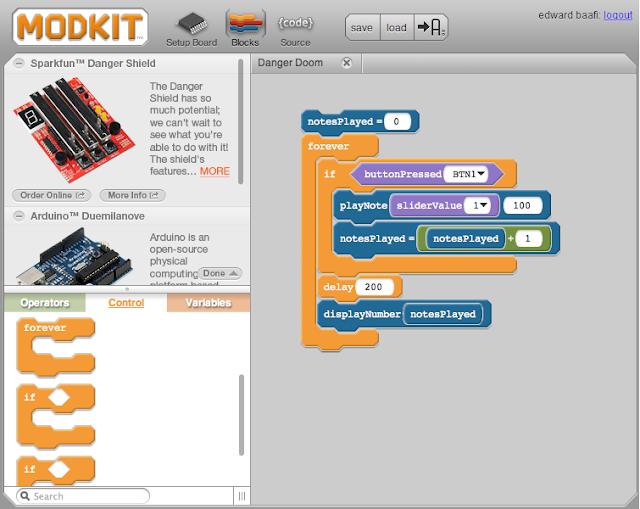 Визуальное программирование Arduino