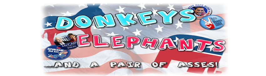 Donkeys, Elephants and a pair of Asses