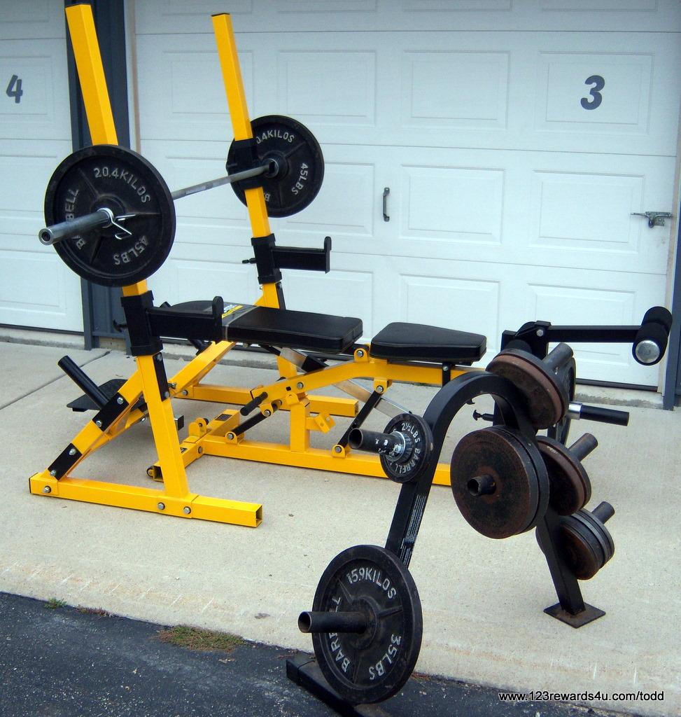Rewards u exercise equipment
