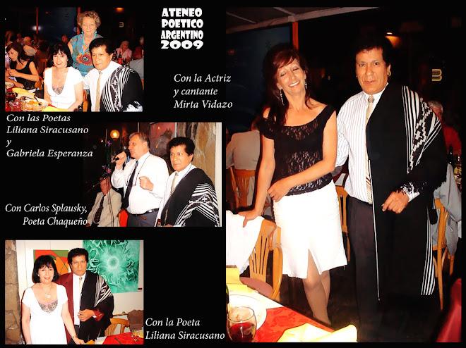 Ateneo Poetico Argentino - Bahuen 2009