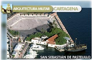 Historia iii colombia arquitectura militar cartagena for Arquitectura militar