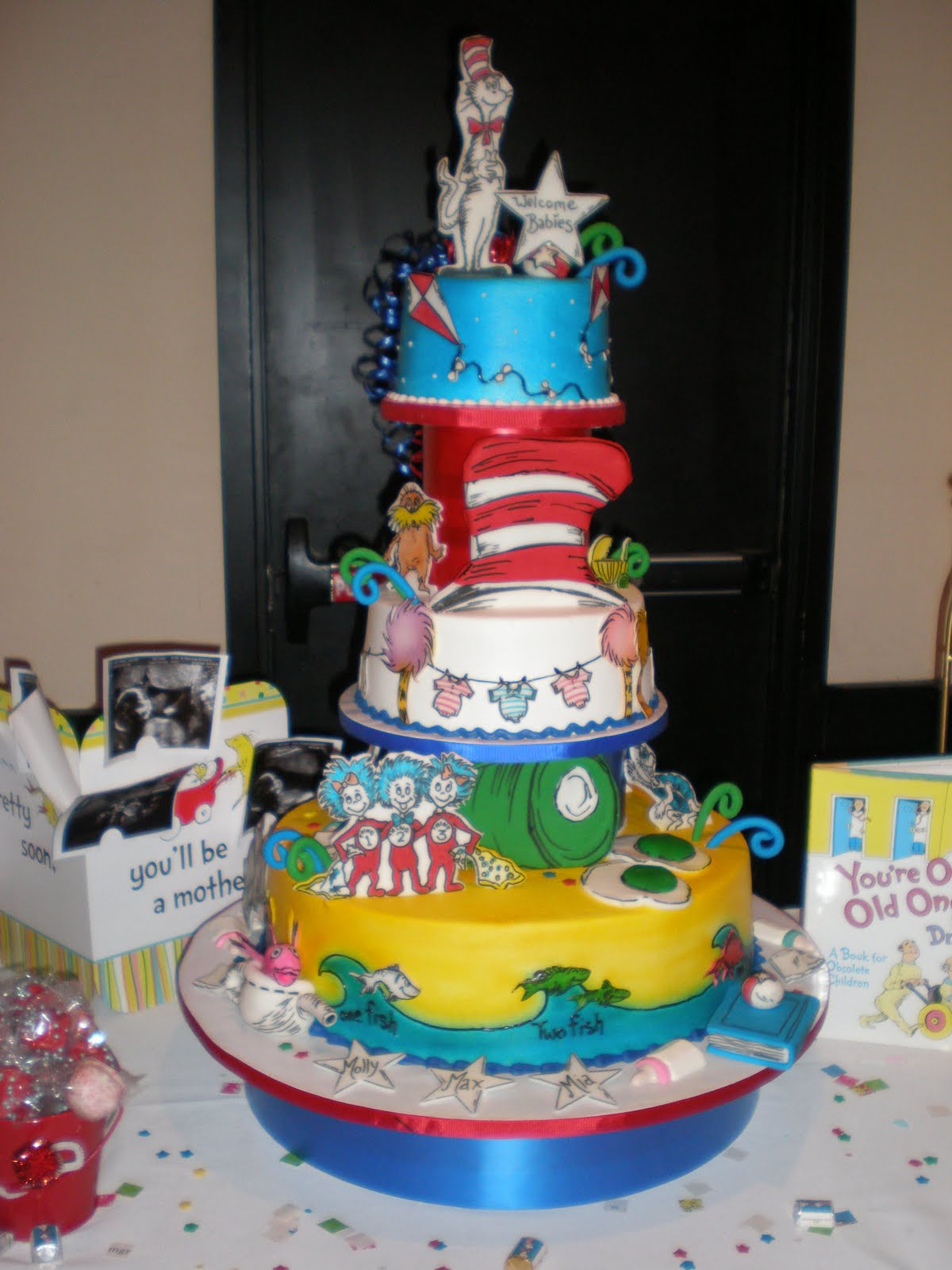 The Amazing Cake By Rama! She Really Is The Best!