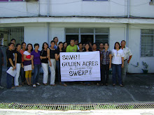 SWEAP Chapter in Tacloban unites to save Golden Acres in QC!