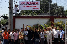 "SWEAP in DSWD Central Office: ""Retain Golden Acres in QC!"""