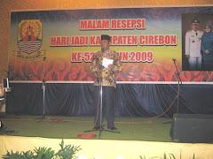 Acara Malam Resepsi Hari Jadi Kabupaten Cirebon Ke-527 Tahun 2009