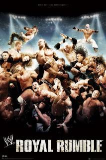 WWE Royal Rumble 2009 Tamanho : 708Mb Resolução : 640x368 Frame Rate : 23FPS Qualidade : DVDRip Qualidade de Áudio : 10