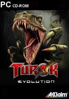 Turok Evolution PC Baseado na história em quadrinhos, Turok conta as aventuras de toda uma linhagem de heróis que se envolveram em uma épica batalha numa terra pré-histórica que existe em uma dimensão paralela.