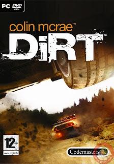 Colin McRae: DiRT DiRT é o sexto título da série de corrida off-road Colin McRae Rally. Enquanto os jogos anteriores da série focalizavam apenas na classificação dos corredores de acordo com tempo gasto para se completar um trajeto, DiRT oferece novos modos de jogo, como competições de rally raid, rally cross, crossover, hill climb e o Campeonato de Corrida Off-Road.