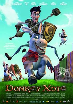 Donkey Xote Cansado da pacata vida que todos parecem levar em La Mancha, Rucio não hesita nem um segundo quando surge a oportunidade de viver uma grande aventura: