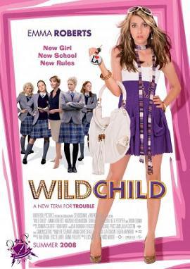 Garota Mimada – Wild Child Poppy (Emma Roberts) é uma adolescente bonita, rica e rebelde que vive em Malibu, litoral californiano. A fim de dar um corretivo da garota, o pai a envia para estudar num rígido colégio britânico.