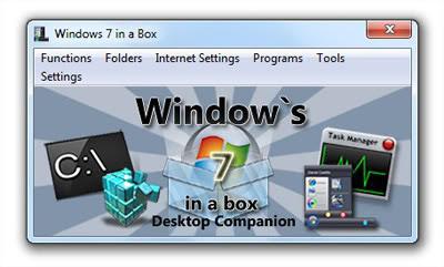 Windows 7 in a Box  Mal foi lançado e o Windows 7 já traz algumas dores de cabeça e complicações para quem ainda não está acostumado com ele. O novo sistema operacional da Microsoft não é tão diferente de seus antecessores, mas traz uma série de novidades e funções, que às vezes acabamos por nem conhecer.