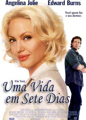 Uma Vida em Sete Dias + legenda Lanie Kerigan (Angelina Jolie) é uma repórter de sucesso da TV Seattle que leva uma vida superficial, ao mesmo tempo em que acredita ter tudo o que interessa na vida: um lindo apartamento, um emprego em uma grande emissora de TV e ainda um namorado superstar (Christian Kane).