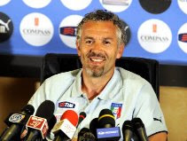 Donadoni at the press conference
