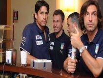Squad in Coverciano