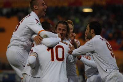Lecce 0-3 Roma