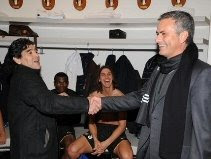 Diego Maradona & Jose Mourinho (inter.it)