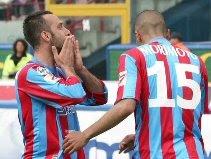 Catania 2-0 Sampdoria