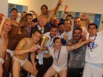Lazio celebrate Coppa triumph
