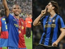 Samuel Eto'o & Zlatan Ibrahimovic