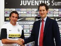Alessandro Del Piero with John Elkann