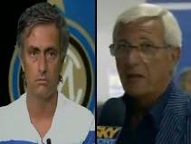 Jose Mourinho & Marcello Lippi
