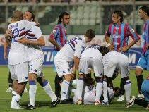 Catania 1-2 Sampdoria