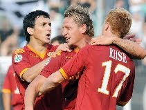 Siena 1-2 Roma