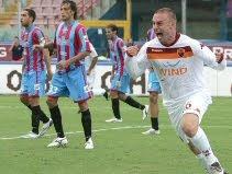 Catania 1-1 Roma