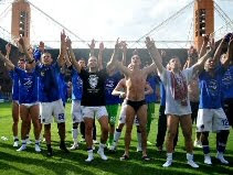 Sampdoria celebrate