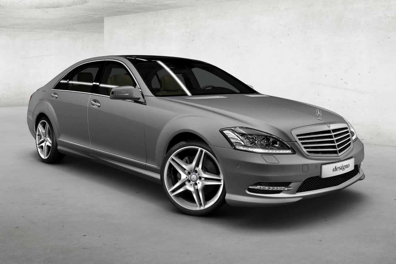 The cars of my dreams pale is the new black considered for Mercedes benz matte paint