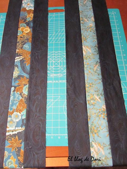 Салфетки сшитые из остатков ткани 10