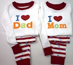 I Love Mom & Dad Red (RM25)
