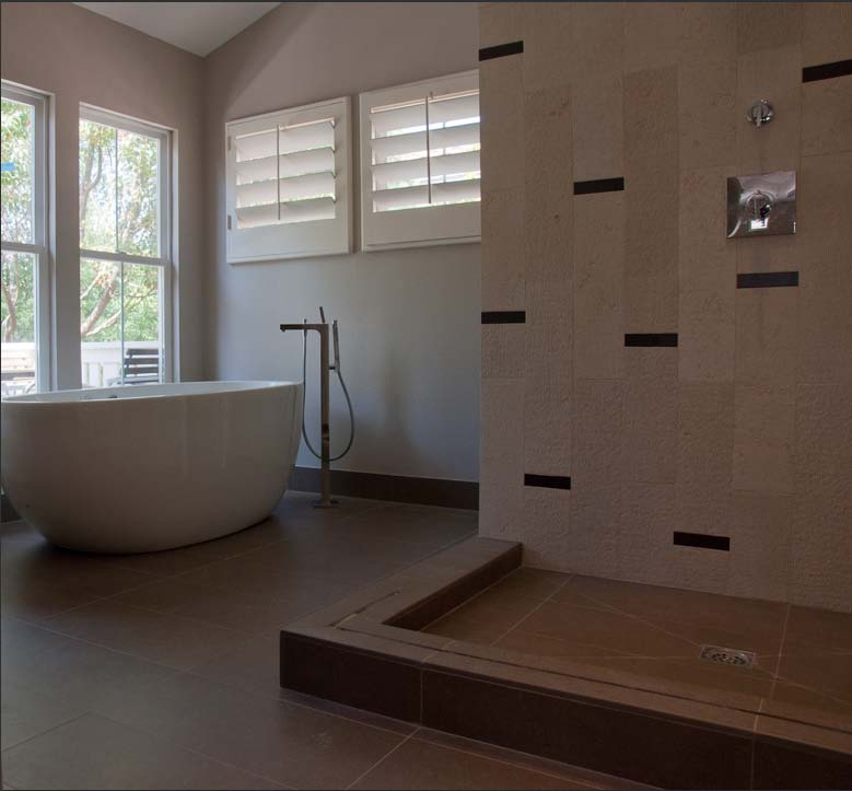 Brittany stiles master bath remodel for Master bathroom modern