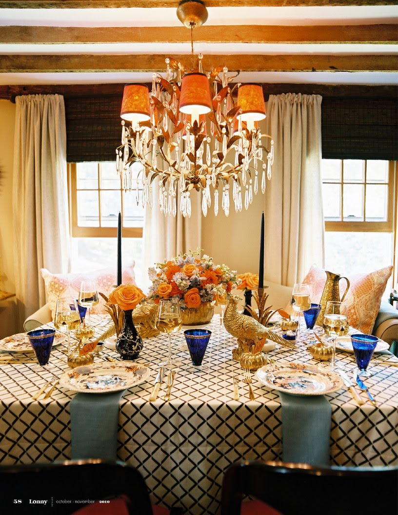 check out eddie s beautiful thanksgiving tablescape for lonny magazine ...