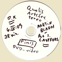 DVD . QUALIS ARTIFEX  PEREO - FINIS - - - Not for Sale