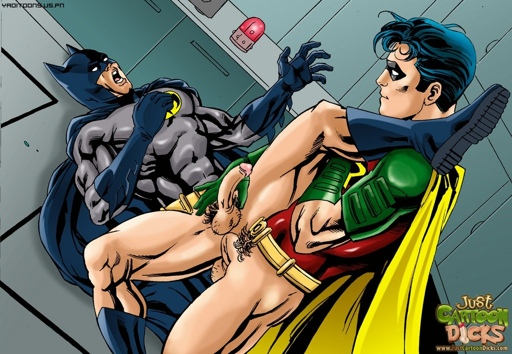 Gay batman robin cartoon