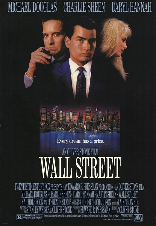 Oliver Stone: Wall Street ~ Hugo Stiglitz Makes Movies