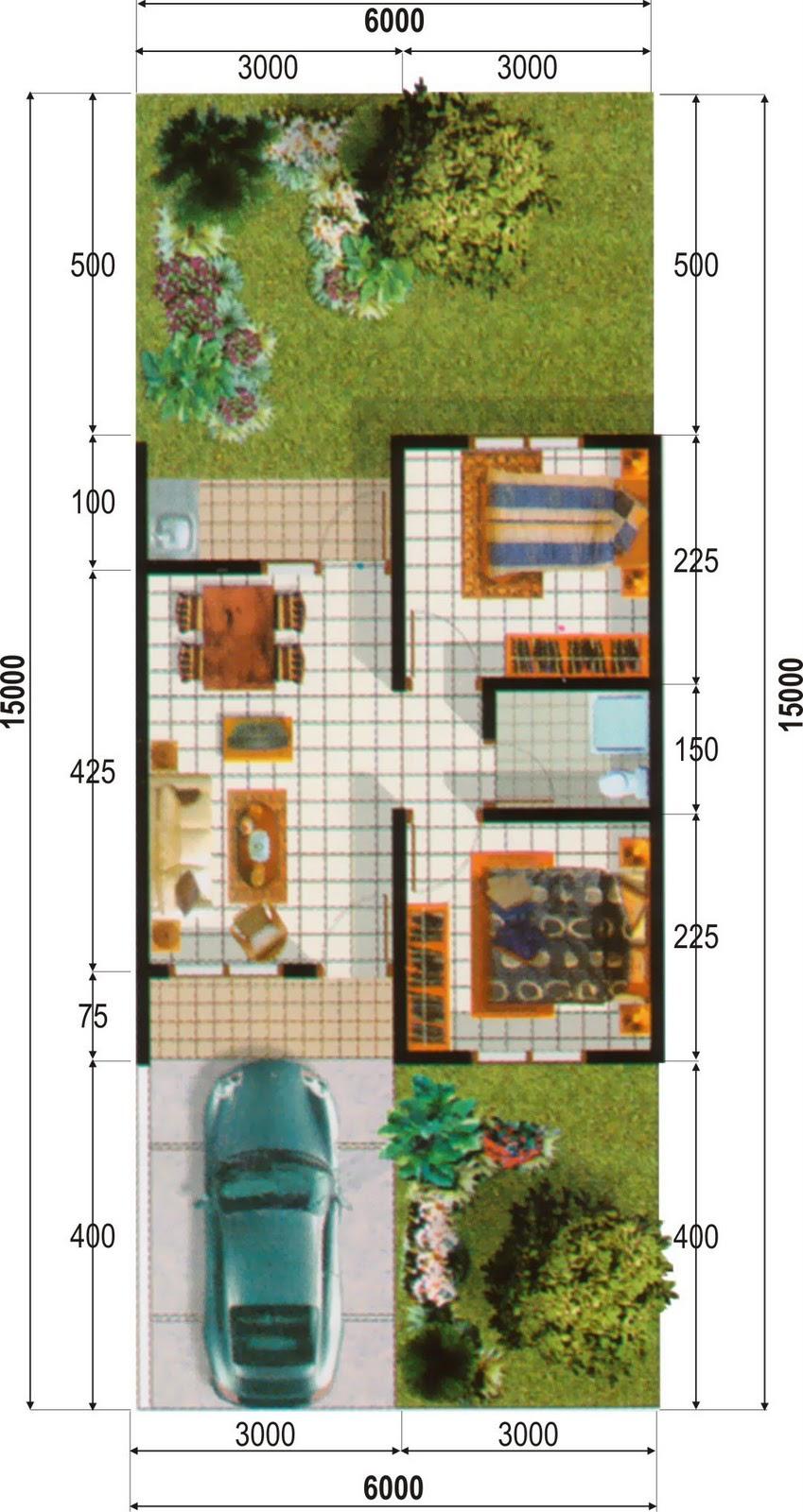 Ide untuk Model Rumah Minimalis Type 21 yang indah