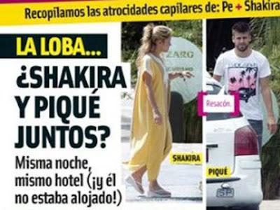 ¿Piqué y Shakira, juntos?