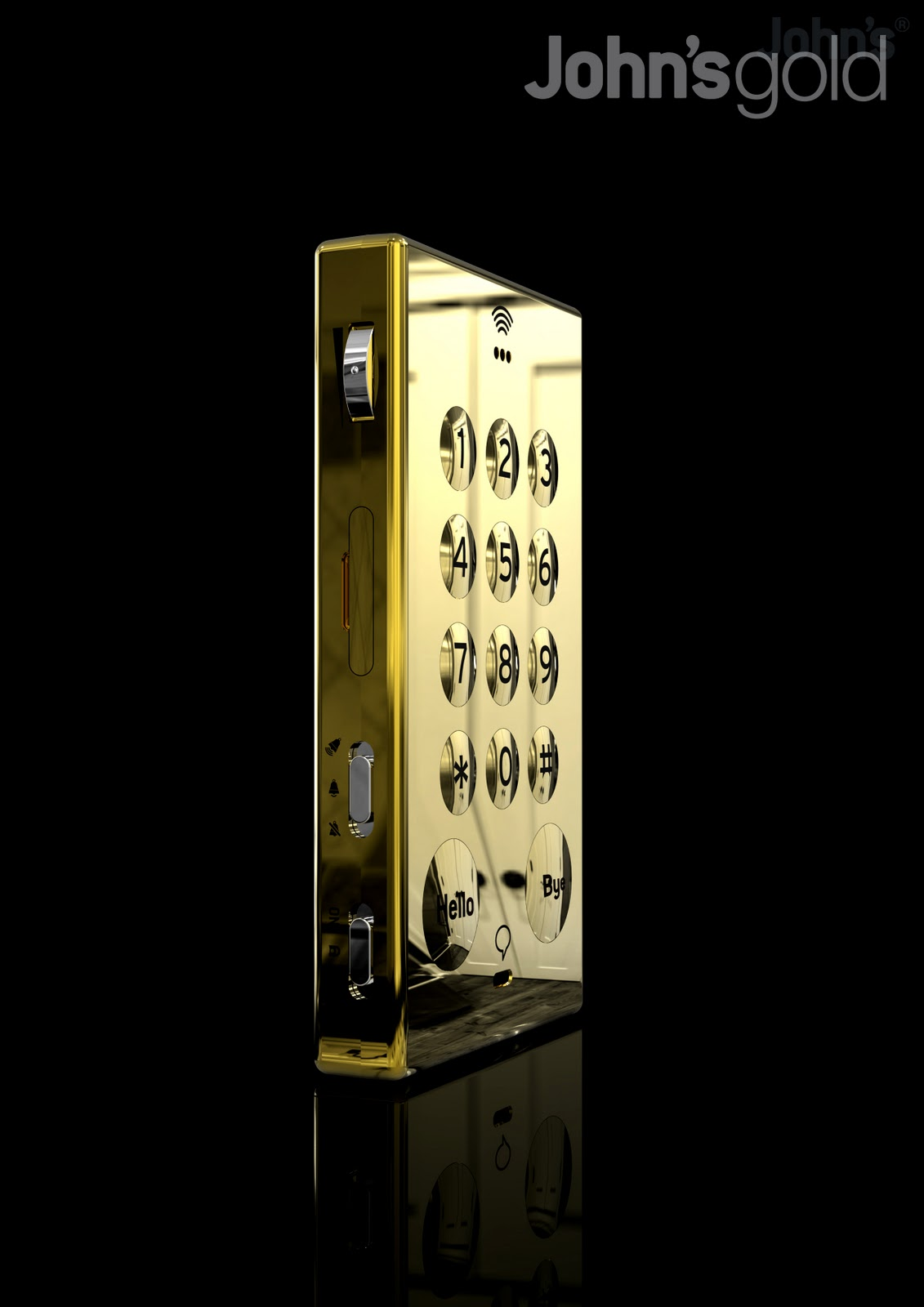 LUXURY4MEN: John's Phone - Gold Limited Edition