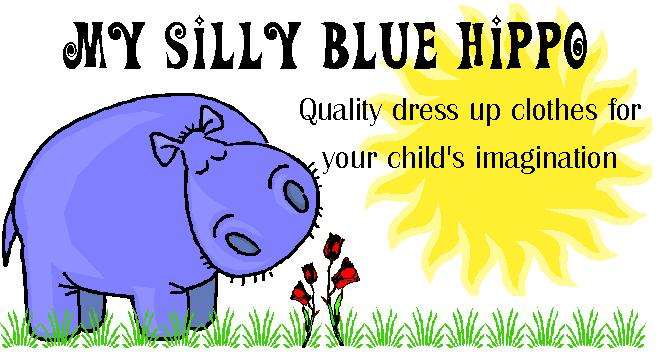 My Silly Blue Hippo