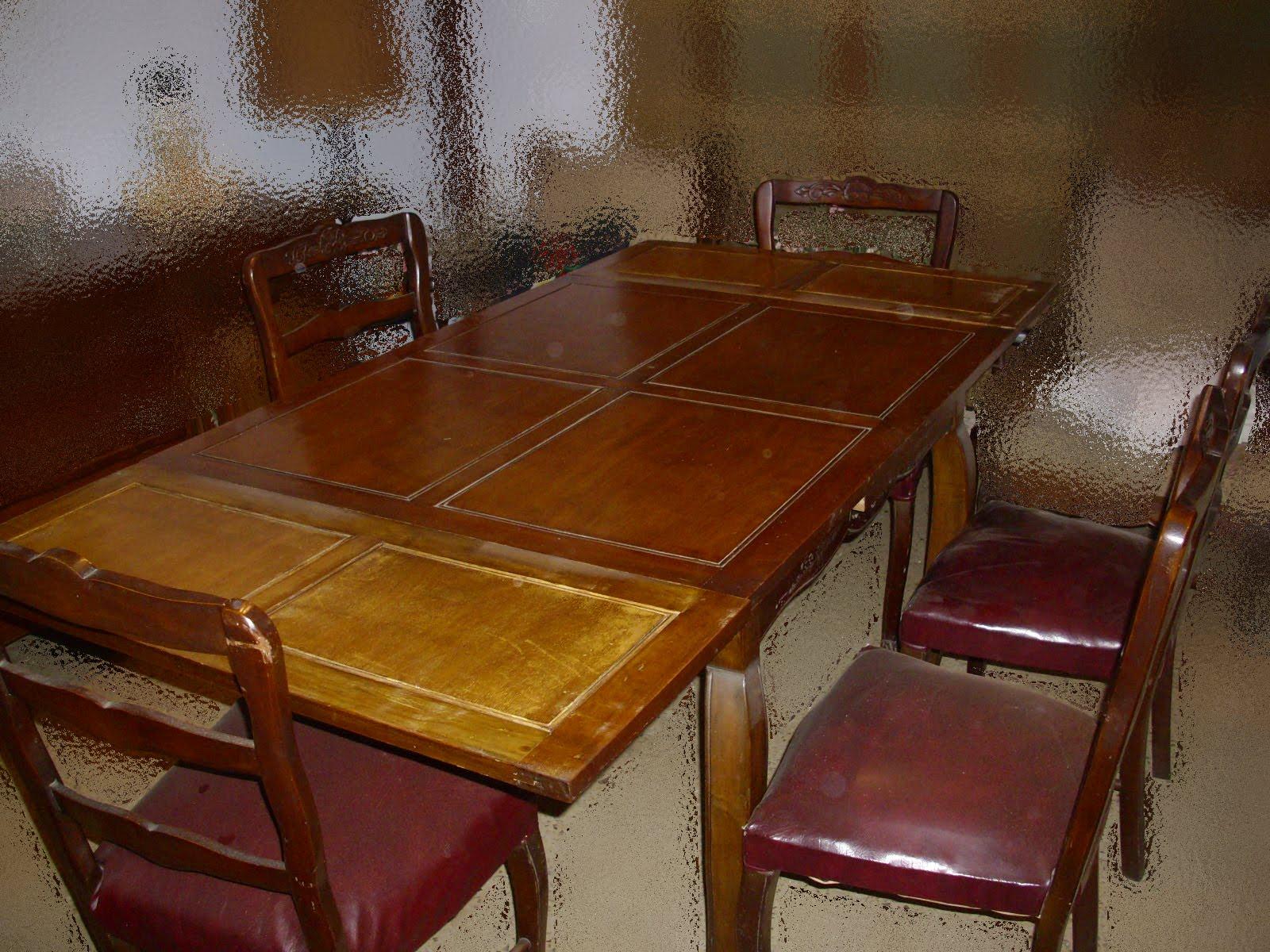Muebles usados juego de mesa y sillas estilo provenzal - Sillas estilo provenzal ...