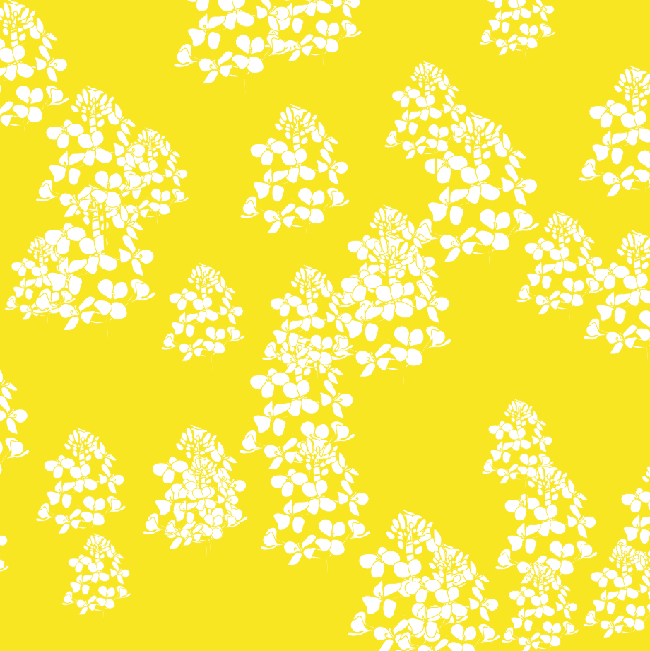yellow floral pattern - photo #6