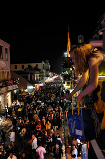 Mardi Gras French Quarter Balcony