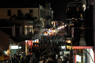 French Quarter after the parade