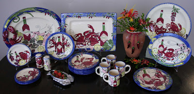 Seafood Buffet Tableware by Tika