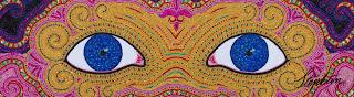 Stephan Wanger Mardi Gras Bead Mosaic