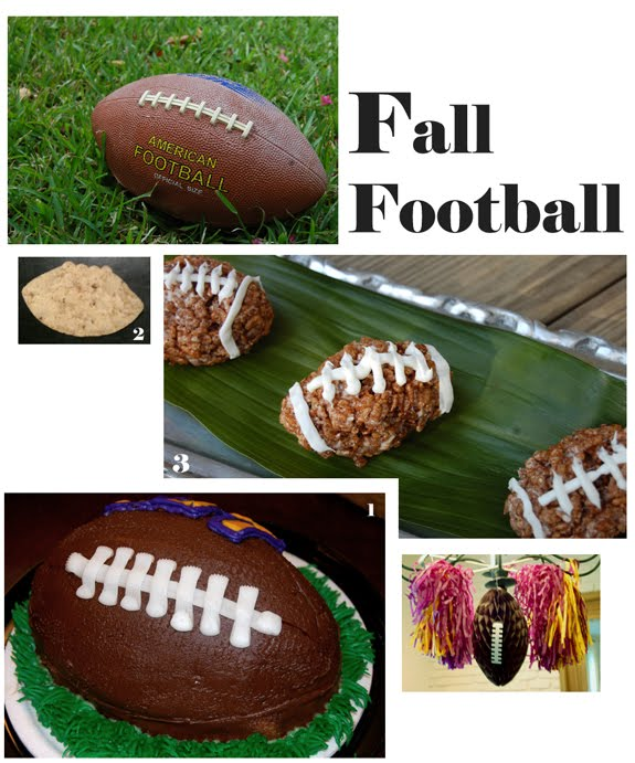Fall Football: Cake,Chips, Treats