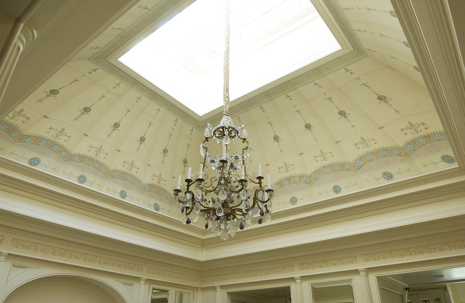 Surface Fragments Decorative Ceiling Dressing Room