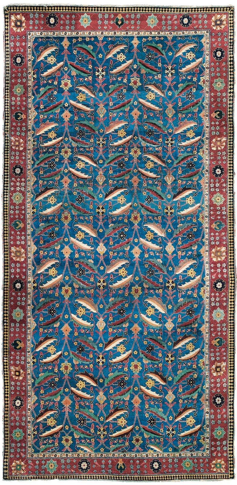 Polonaise antique oriental rugs - Safavid Floral And Polonaise Carpets When Persian Rugs Came To Europe
